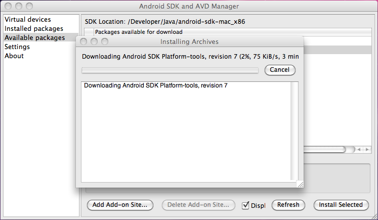 Android | Inácio Ferrarini - Software Development