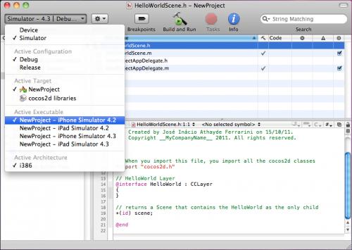 Cocos2D | Inácio Ferrarini - Software Development